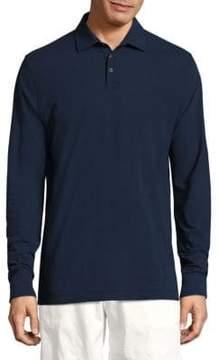 Vilebrequin Swiss Jersey Long Sleeve Polo