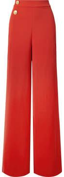 Alice + Olivia Alice Olivia - Florinda Crepe Wide-leg Pants - Red