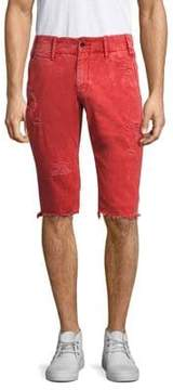 PRPS Distressed Grass Shorts