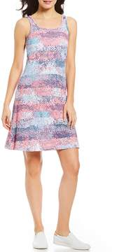 Columbia Freezer III Scoop Neck Sleeveless Printed Dress