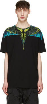 Marcelo Burlon County of Milan Black Valentin T-Shirt