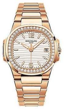 Patek Philippe 18kt Rose Gold Diamond Ladies Watch 7010-1R-011