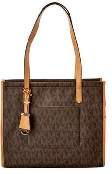 MICHAEL Michael Kors Darien Medium Tote. - BROWN - STYLE