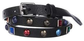 Diesel Studded Leather Belt