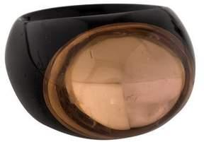 Baccarat Crystal Tango Ring