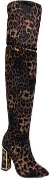Bamboo Leopard Illusion Boot - Women
