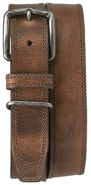 Trask Men's 'Summit' American Steer Leather Belt
