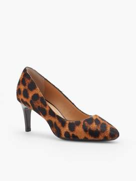 Talbots Tessa Haircalf Pump - Leopard
