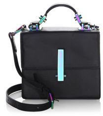 KENDALL + KYLIE Minato Mini Leather Crossbody Bag