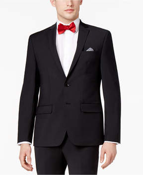 Bar III Men's Extra-Slim Fit Stretch Wrinkle-Resistant Black Suit Jacket, Created for Macy's