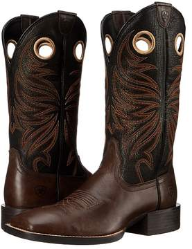 Ariat Sport Rider Wide Square Toe Cowboy Boots