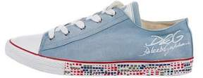 Dolce & Gabbana Canvas Cap-Toe Sneakers