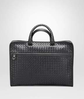Bottega Veneta Nero Intrecciato Calf Briefcase