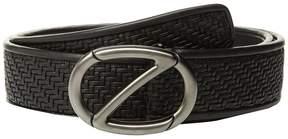 Z Zegna Fixed Woven Belt BPTAP9 Men's Belts
