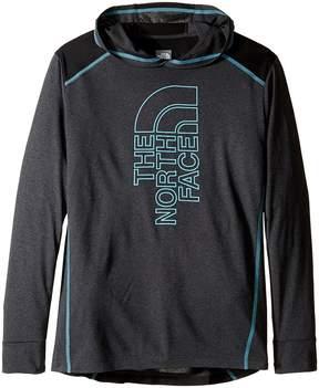 The North Face Kids Long Sleeve Reactor Hoodie Boy's Sweatshirt