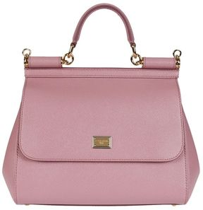 Dolce & Gabbana Sicily Tote - POUDRE PINK - STYLE