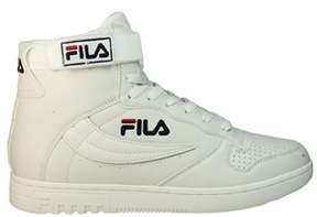 Fila Men's White Leather Hi Top Sneakers.