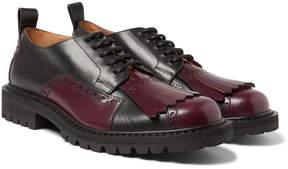 Dries Van Noten Leather Kiltie Brogues
