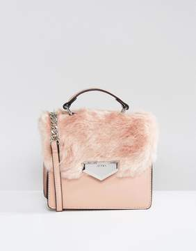 ALDO Moraine Faux Fur Cross Body Bag