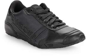Diesel Men's Harold Leather Lace-Up Sneakers