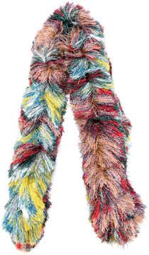 Missoni long fluffy scarf