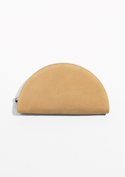 Half Moon Suede Case