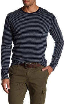 Joe Fresh Striped Crew Neck Long Sleeve Tee
