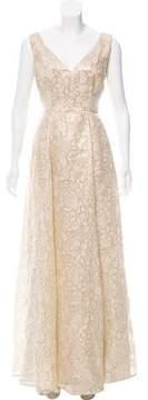 Erin Fetherston ERIN by Metallic Evening Dress