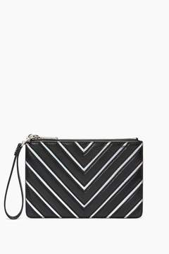 Rebecca Minkoff Wristlet Pouch - NATURAL - STYLE