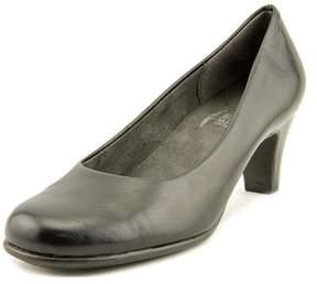 Aerosoles Nice Play W Round Toe Leather Heels