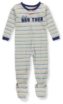 Carter's Boys' Footed Pajamas - gray, 4t