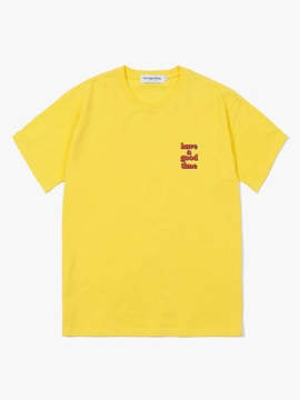 Have A Good Time 3D Logo SS Tee Yellow