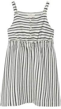 MANGO Striped organic cotton dress