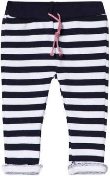 Absorba Navy Stripe Jersey Trousers