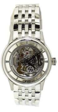 Oris Artelier 7684 Skeleton Stainless Steel 40.5mm Mens Watch