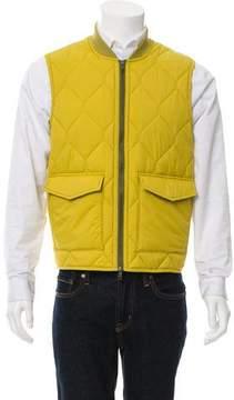 Jack Spade Quilted Zip-Up Vest