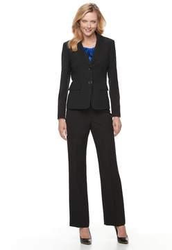 Le Suit Women's Basketweave Suit Jacket