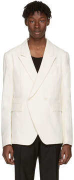 Haider Ackermann Ecru Cotton Blazer