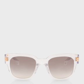 Paul Smith Crystal Mirrored 'Eamont' Sunglasses