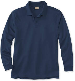 L.L. Bean Pima Cotton Polo, Traditional Fit Long-Sleeve