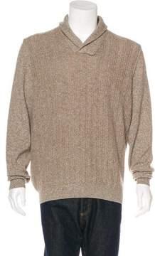 Isaia Yak & Lambswool Shawl Collar Sweater w/ Tags