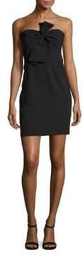 Alexia Admor Bow-Front Mini Dress
