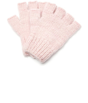The Elder Statesman M'O Exclusive Fingerless Gloves