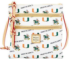 Dooney & Bourke NCAA University of Miami ZipCrossbody - ONE COLOR - STYLE
