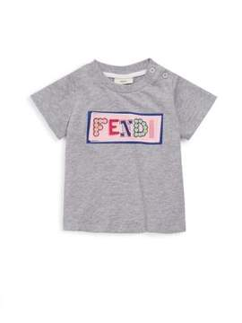 Fendi Baby Girl's Graphic Cotton Tee