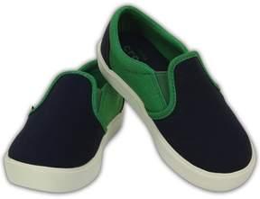 Crocs Citilane Slip-On, Sneakers, Navy/Kelly Green