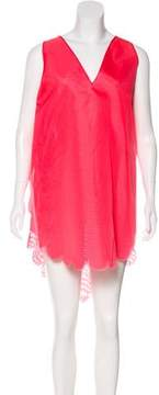 Antonio Berardi Silk Scalloped Dress w/ Tags