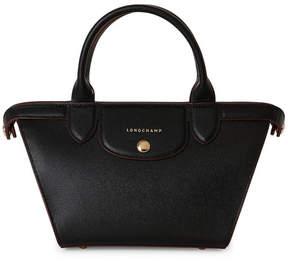 Longchamp Black Le Pliage Héritage Small Satchel - BLACK - STYLE