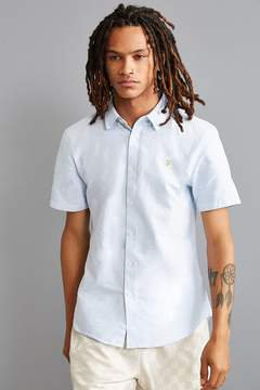 Farah Brewer Short Sleeve Button-Down Shirt