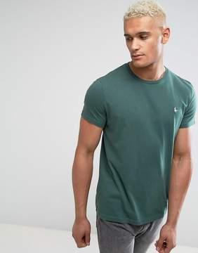 Jack Wills Sandleford Basic T-Shirt In Green